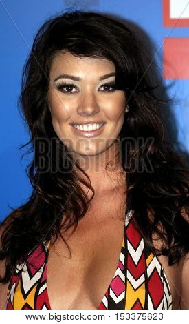 Brittany Brower at the E! Entertainment Television's Summer Splash Event held at the Hollywood Roosevelt Hotel's Tropicana Club in Hollywood, USA on August 1, 2005.