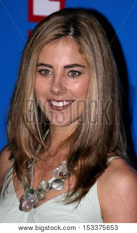 Elizabeth Jarosz at the E! Entertainment Television's Summer Splash Event held at the Roosevelt Hotel in Hollywood, USA on August 1, 2005.