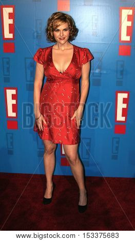 Sara Rue at the E! Entertainment Television's Summer Splash Event held at the Hollywood Roosevelt Hotel's Tropicana Club in Hollywood, USA on August 1, 2005.