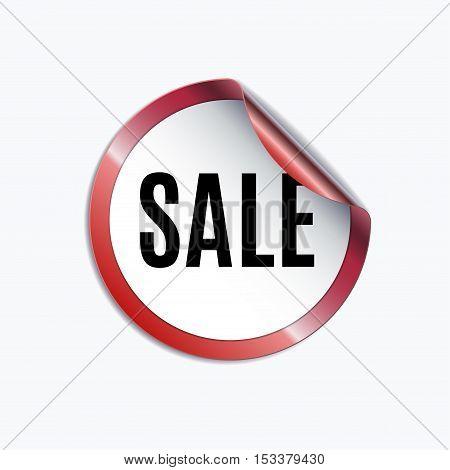 Sale design template. Creative banner. Vector illustration, marketing price tag, discount, advertising. Abstract vector illustration for shopping.