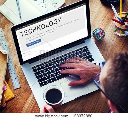 Technology Digital Internet Networking Data Concept