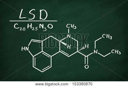 Structural Model Of Lsd