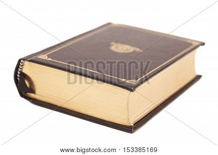 Book cover isolated on a white background