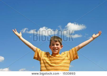 Boy In The Sky