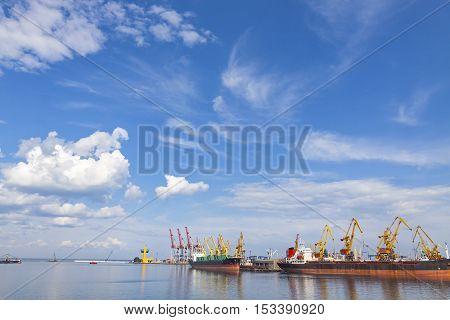 Sea Port Of Odessa, Black Sea, Ukraine