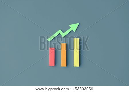 Data Analysis Business Information Facts Chart Concept