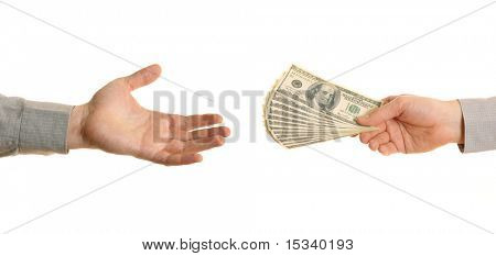 Hands and Dollars