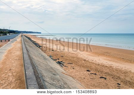 Omaha Beach Is One Of The Five Landing Beaches