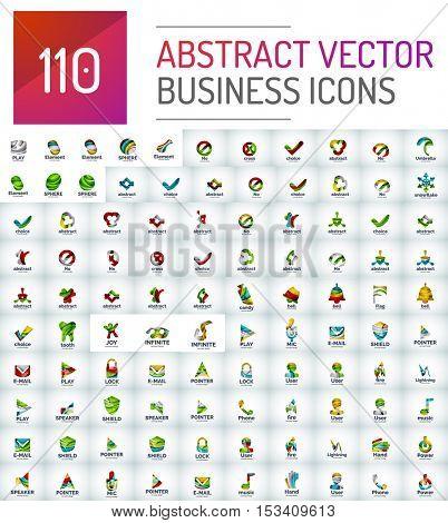 Abstract logo vector mega collection