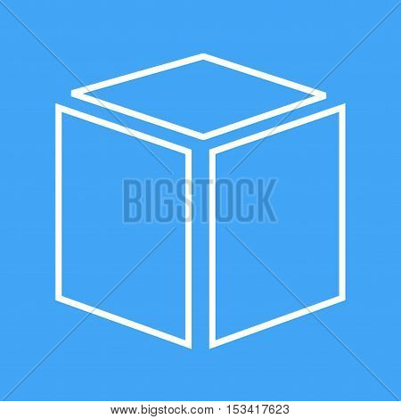 AWS, media, social icon vector image. Can also be used for social media logos. Suitable for mobile apps, web apps and print media.