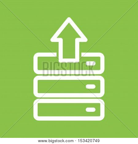 Upload, file, folder icon vector image. Can also be used for software development. Suitable for mobile apps, web apps and print media.