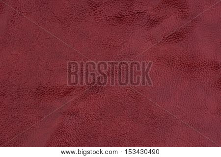 red leather texture background. Abstract background, empty template.
