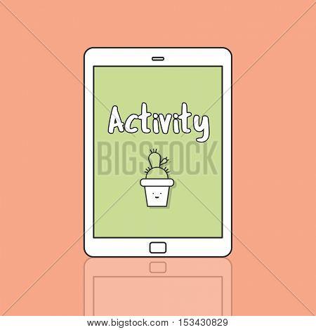Activity Illustration Graphic Icon Concept