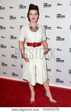 NEW YORK-APR 2: Actress Debi Mazur attends attends the 2015 Center Dinner at Cipriani Wall Street on April 2, 2015 in New York City,