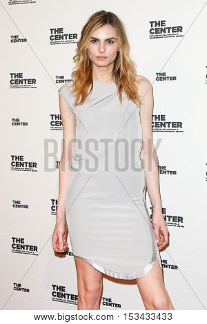 NEW YORK-APR 2: Andreja Pejic attends attends the 2015 Center Dinner at Cipriani Wall Street on April 2, 2015 in New York City,
