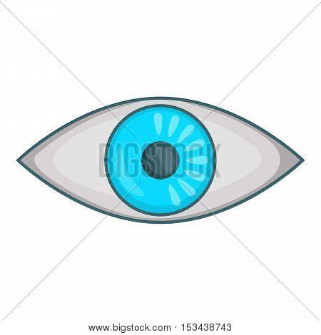 Eye icon. Cartoon illustration of eye vector icon for web design