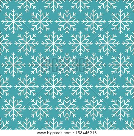 Vector mono line graphic design templates - labels and badges on decorative backgrounds with simple patterns - Merry Christmas seamless pattern. Design templates with snowflakes