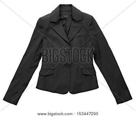 Stylish Black Jacket For A Woman