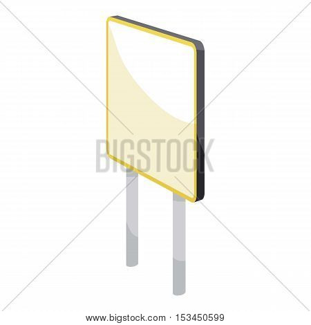 Advertising sign icon. Cartoon illustration of advertising sign vector icon for web