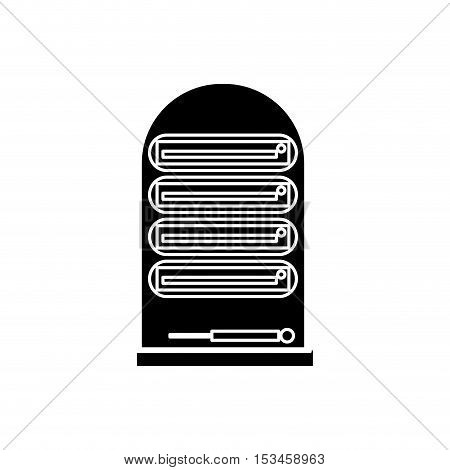 Cpu icon. device gadget technology theme. Isolated design. Vector illustration