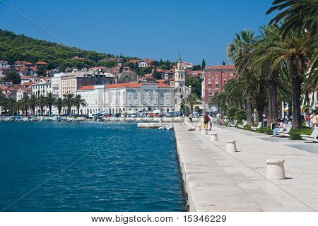 Split City View, Croatia