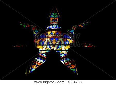 Stained Glass Window (Star)