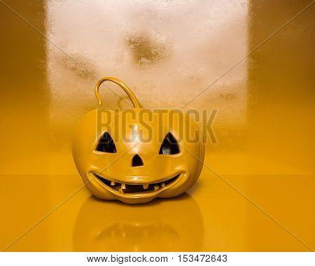 3d Render: Halloween Orange Pumpkin