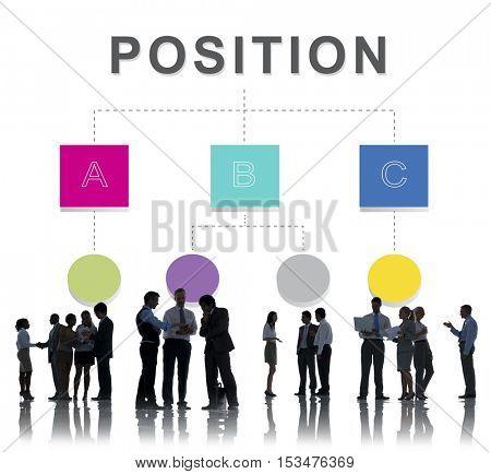 Position Organization Chart Structure Concept
