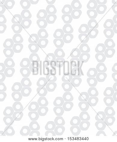 Abstract subtle gray geometric hipster fashion design print pattern
