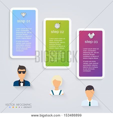 Infographic Templates For Business. Can Be Used For Website Layout Vector, Numbered Banners, Diagram