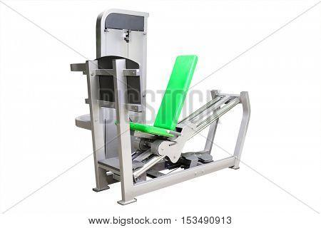 Interior of a fitness hall