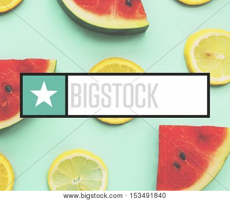 Banner Search Box Graphic Concept