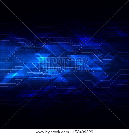 digital technology background abstract vector illustration EPS10