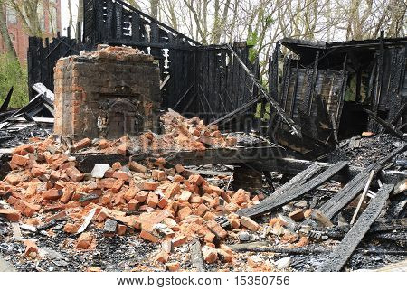 Burned House