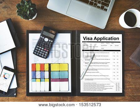 Application Form Concept