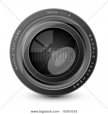 Vector Camera Lens