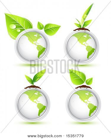 Green Earth. Icons