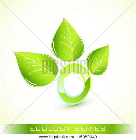 Green environmental icon