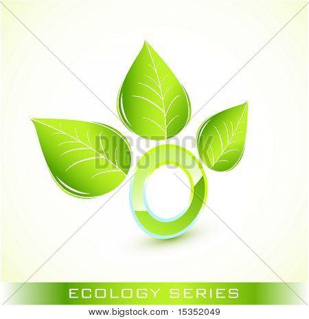 Green environmental icon