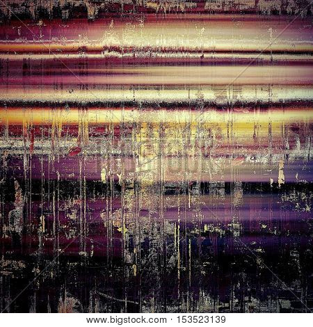 Grunge colorful texture, aged weathered background with different color patterns: yellow (beige); gray; blue; purple (violet); pink; black