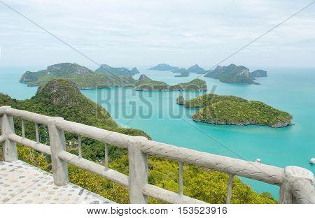 Mu Ko Ang Thong National Marine Park In Thailand