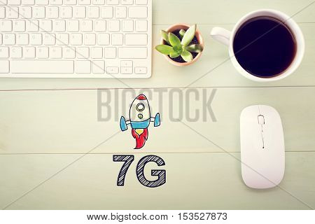 7G Concept With Workstation