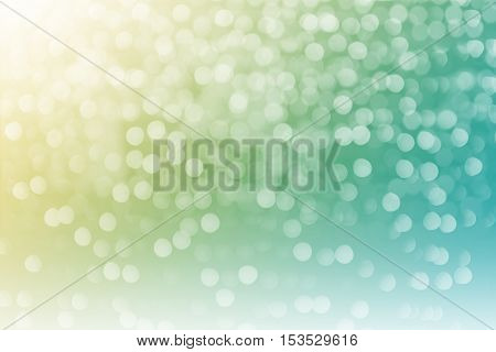 Defocused, Abstract Background Color Light Bokeh Circles.