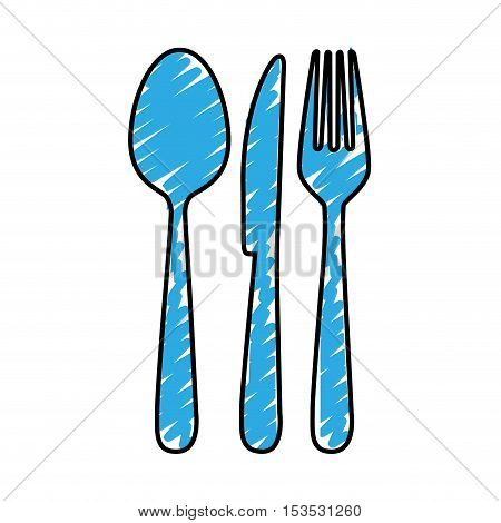 cutlery icon image simple vector illustration design