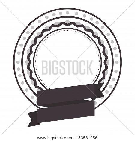 emblem or label icon image vector illustration design