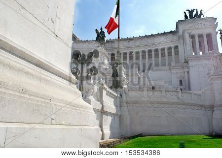 Rome.Italy. Monument to the Unknown Soldier or Vittoriano