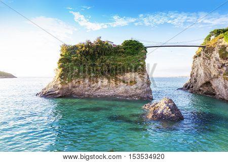Popular Newquay Atlantic Ocean Coast, Uk