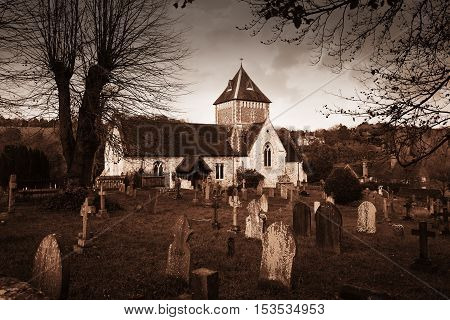 Puttenham St John The Baptist Church England Uk