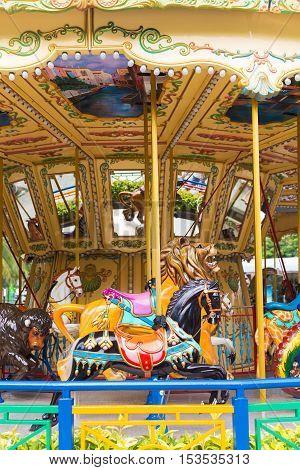 Pretty Carousel Adventure Amusement Park