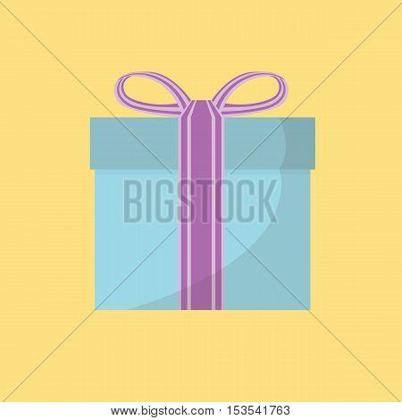 Christmas Concept By Gift Box On Christmas.